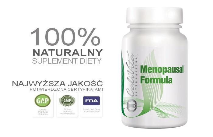 Menopausal Formula • CaliVita - Tylko dla kobiet, tylko dla mężczyzn • CaliVita - Strona Partnera